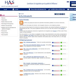 Nos flux d'information RSS