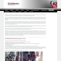 Nos Kits - Association Caliban