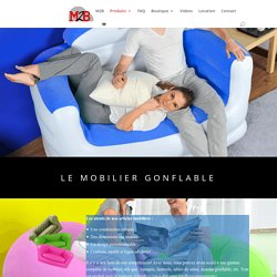 Nos Mobiliers gonflables