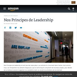 Nos Principes de Leadership