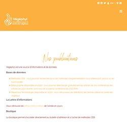 Nos publications – Vegephyl