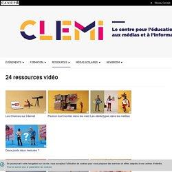 Nos ressources vidéos- CLEMI