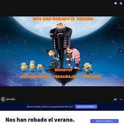 Plantilla Genially reutilizable - Nos han robado el verano by Inma Pérez