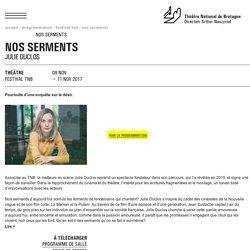 NOS SERMENTS - NOV 2017