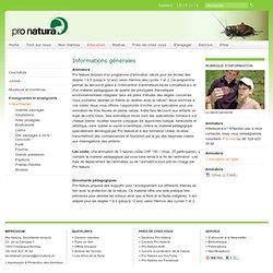 Nos thèmes - Pro Natura