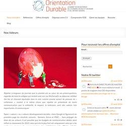 Orientation Durable (cabinet recrutement ESS)