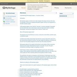 Nose Job Kuwait - MyHeritage