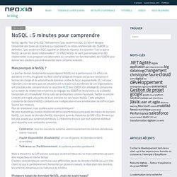 NoSQL : 5 minutes pour comprendre