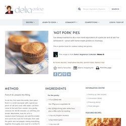 'Not Pork' Pies