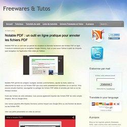 annoter les fichiers PDF
