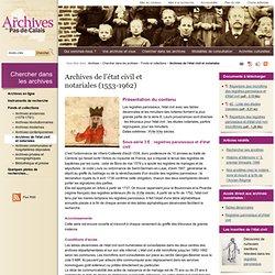 Les Archives du Pas-de-Calais (CG62)