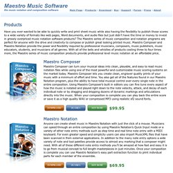Maestro Music Software - hat auch Gitarrensoftware