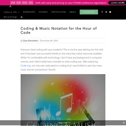 Coding & Music Notation for the Hour of Code