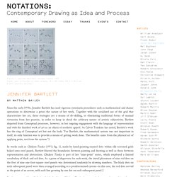 Notations: Contemporary Drawing as Idea and Process