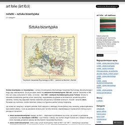 notatki – sztuka bizantyjska « art folie