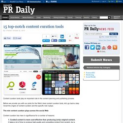 15 top-notch content curation tools