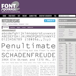 Free Font NotCourierSans by Open Source Publishing