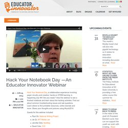 Hack Your Notebook Day