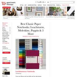 Best Paper Notebooks Leuchtturm Moleskine Poppin
