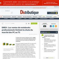 Le marché entreprise limite toujours la baisse des livraisons de PC en EMEA