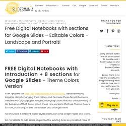 Notebook Google Slides