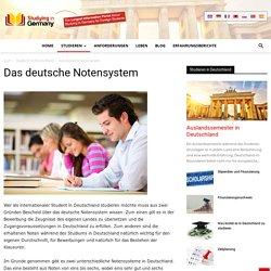 Das deutsche Notensystem - Studieren in Deutschland