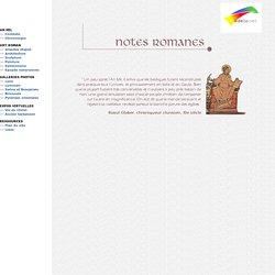 Notes romanes