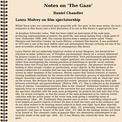 Notes on The Gaze