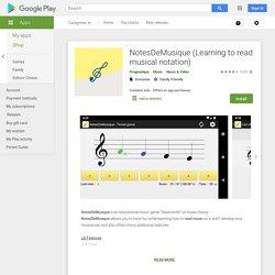 NotesDeMusique (Music Notes) - Приложения на Google Play