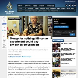 Money for nothing: Mincome experiment could pay dividends 40 years on