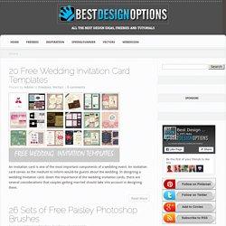 Best Design Options-Free design resources, Design tutorials and Design tips - Part 2