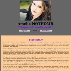 Amélie Nothomb : Stupeur et tremblement