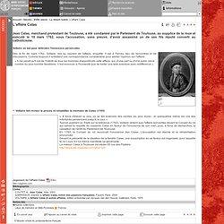L'affaire Calas - Musée protestant