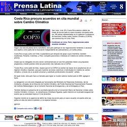 Costa Rica procura acuerdos en cita mundial sobre Cambio Climático
