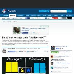 Saiba como fazer uma Análise SWOT - Notícias