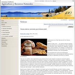 Noticias - Agricultura y Recursos Naturales