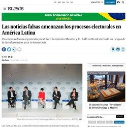 Las noticias falsas amenazan los procesos electorales en América Latina