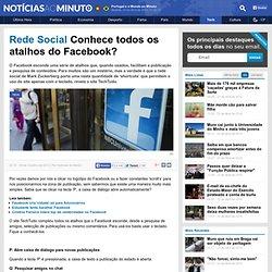 Conhece todos os atalhos do Facebook?
