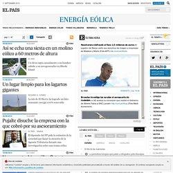 Noticias sobre Energía eólica