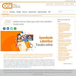 Nueva guía sobre cómo identificar fraudes online
