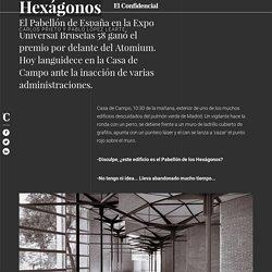 Noticias de Madrid: La ruina del pabellón de los hexágonos: de edificio de prestigio a refugio para gatos. Noticias de Cultura