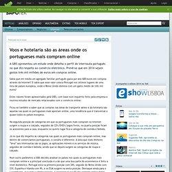 Notícias> Internet>Voos e hotelaria são as áreas onde os portugueses mais compram online