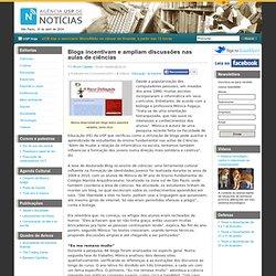 Blogs incentivam e ampliam discussões nas aulas de ciências