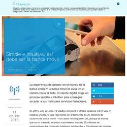 Simple e intuitiva, así debe ser la banca móvil - (Banco Bilbao Vizcaya Argentaria)