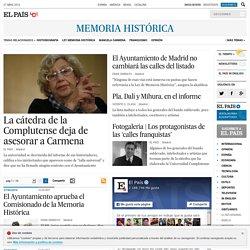Noticias sobre Memoria histórica