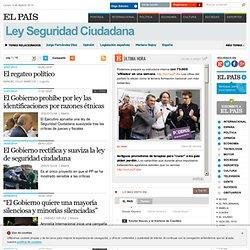 Noticias sobre Ley Seguridad Ciudadana