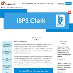 IBPS CLERK Notification, Syllabus, Exam Pattern, Vacancy