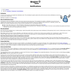 Nagios testcoder pearltrees for Nagios email notification template