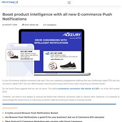 E-commerce Push Notifications - Using Labels For Conversions