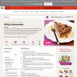 Nötig cheesecake